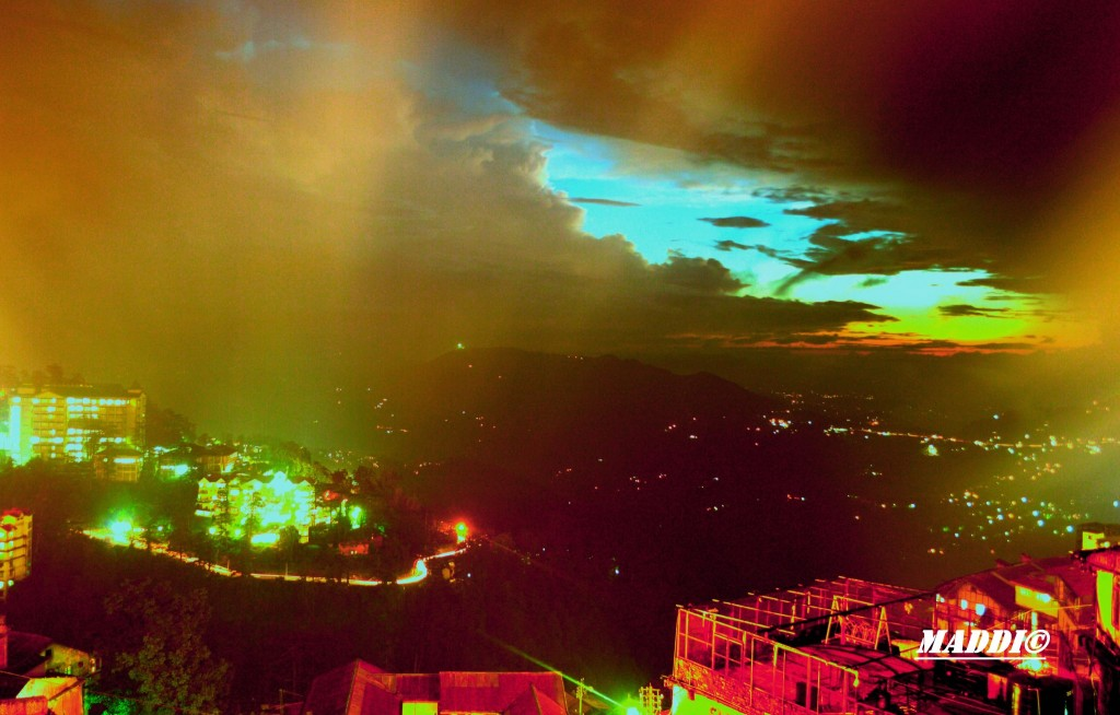 shimla-night