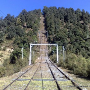 Haulage trolly lines Barot