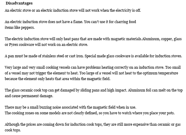 Induction cooking drawbacks 28 images induction for Induction ranges pros and cons