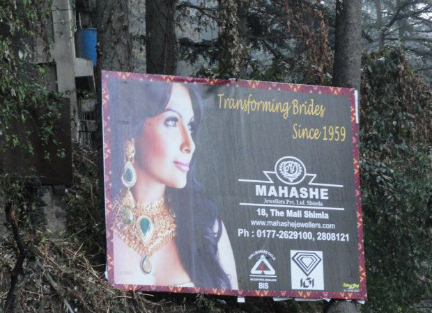 unauthorised-hoardings-shimla
