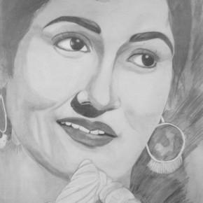 Madhubala-sketch
