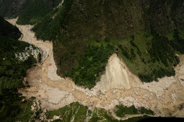 Uttarakhand and Himachal floods