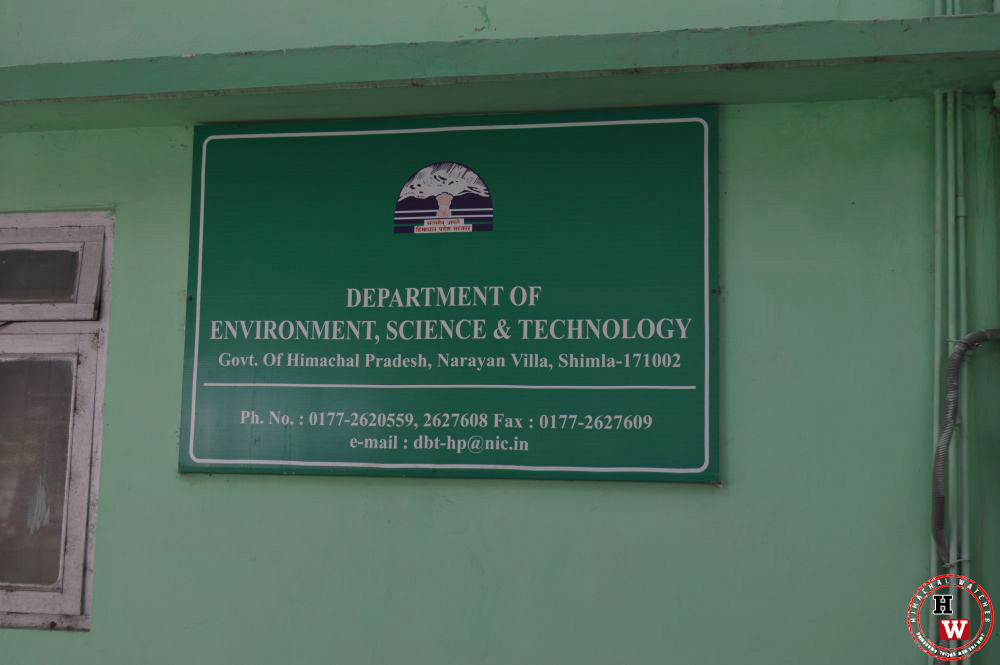 department-of-enviromen,-science,-technology-shimla