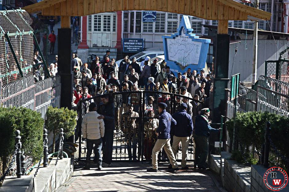 shimla police in action