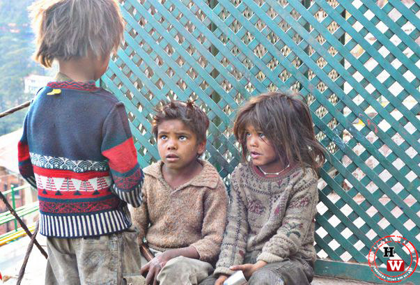street kids in shimla