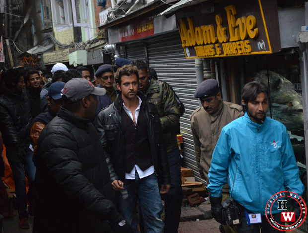hrithik shoots in shimla