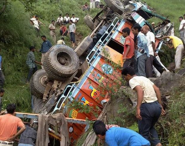 chamba truck accident in himachal