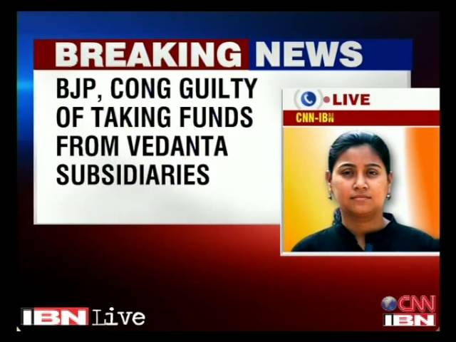 congress and bjp guilty of taking foriegn funding