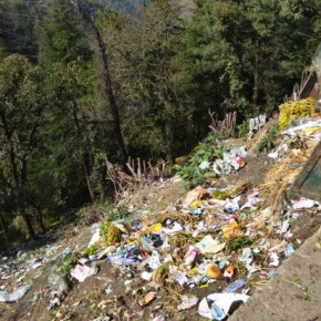garbage problem in shimla city