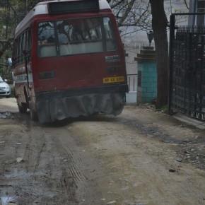 hrtc's mini buses in new shimla route