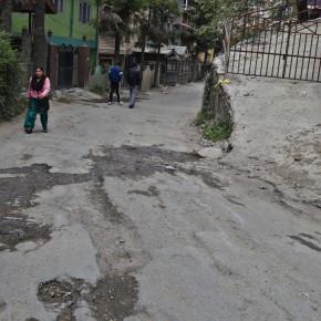 new shimla's road