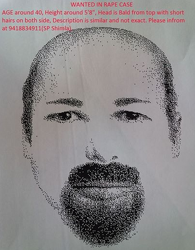 sketch of shimla gangrape accused