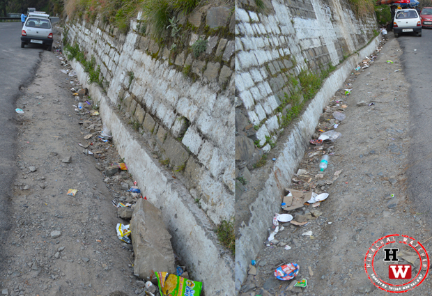 tourism in shimla and garbage issue