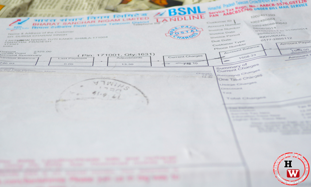 bsnl broadband bill online