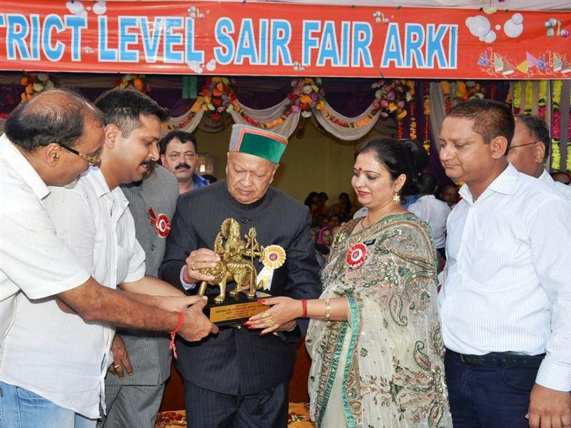 CM inaugurates Sair Fair at Arki