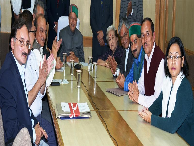 Chief Minister Virbhadra Singh inaugurated the newly created Sub Tehsil Deha and also up-graded Sub-Tehsil Kupvi to Tehsil in Shimla