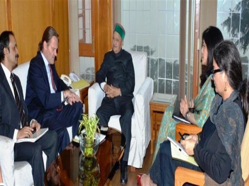 CM urges World Bank to include H.P in priority list for funding