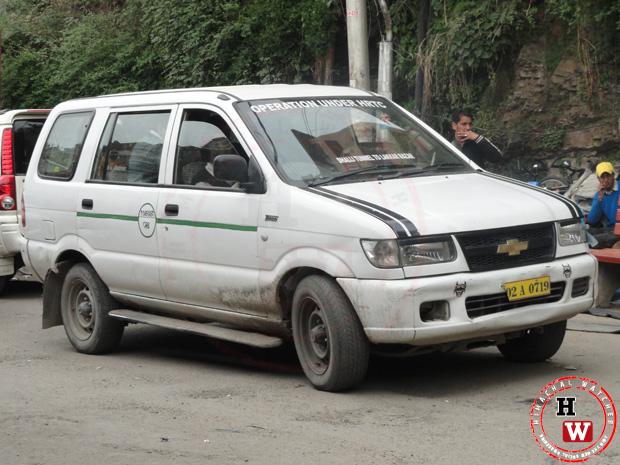 HRTC taxis only for senior citizens and disabled persons