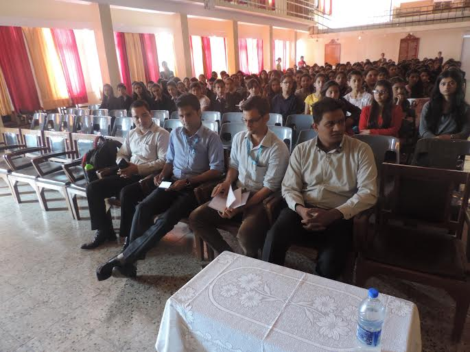 Naina Sambher (Vice President) Mohini Sharma ( Secretary)