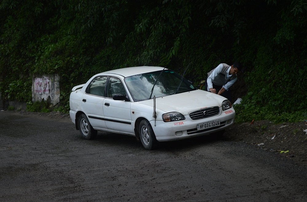 roadside carwash in shimla
