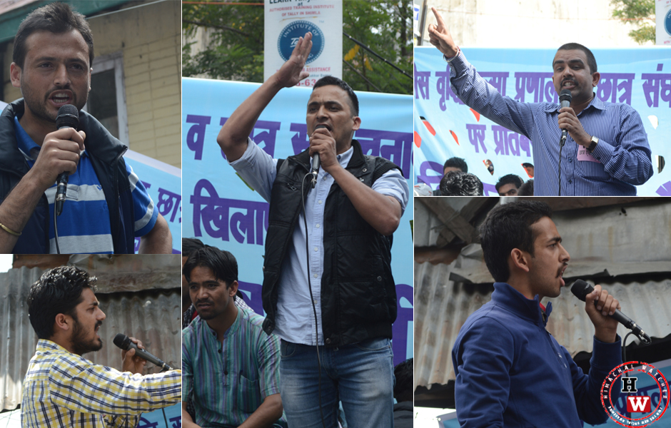 student leaders stand united at himachal