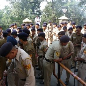 student protest in shimla
