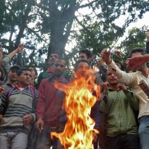 effigy burning himachal