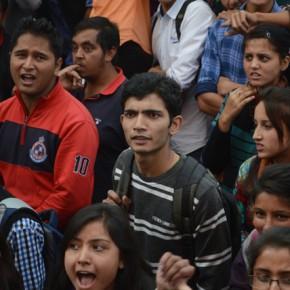 hp university protest