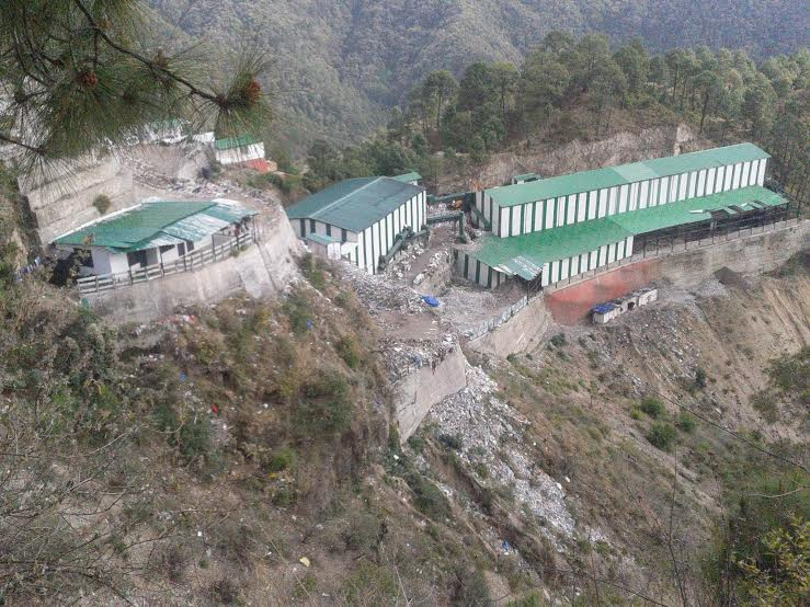waste-management-project-mc-shimla-tutu-taradevi-road