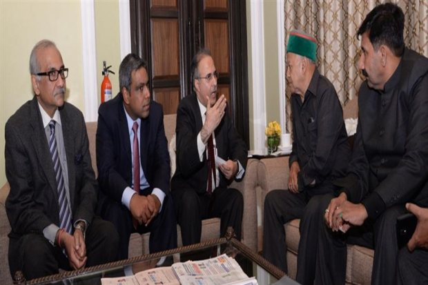 Chief Minister invites business houses to invest in Himachal
