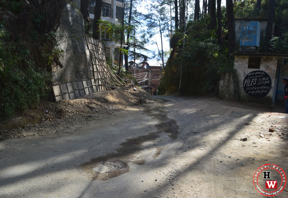 Unsafe--road-Shimla