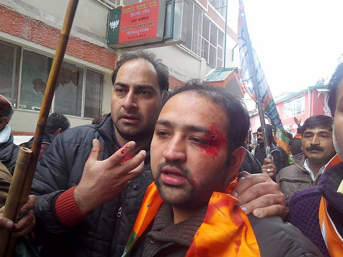 Shimla BJP & Youth Congress clash – who started it 13