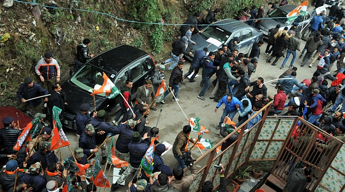 Shimla BJP & Youth Congress clash – who started it 15