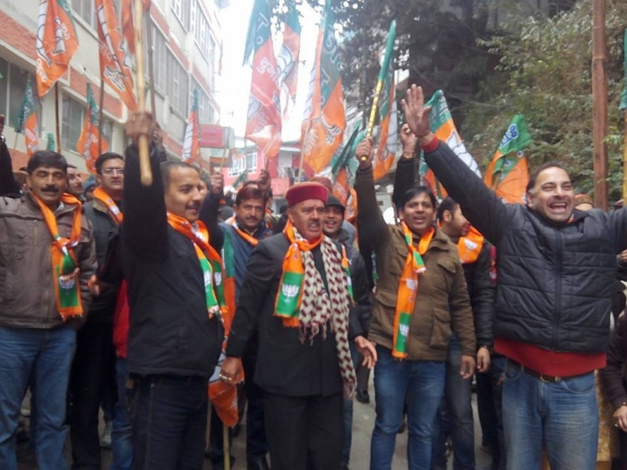 Shimla BJP & Youth Congress clash – who started it 2