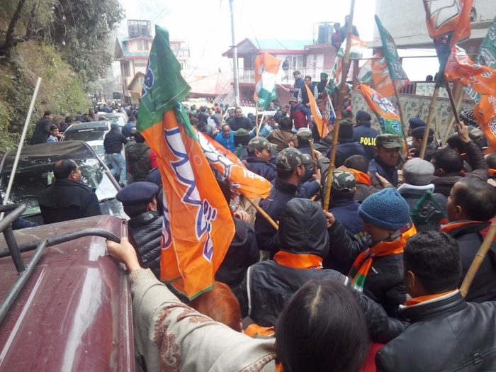 Shimla BJP & Youth Congress clash – who started it 3