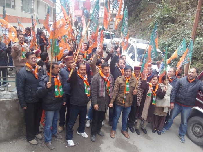Shimla BJP & Youth Congress clash – who started it 5