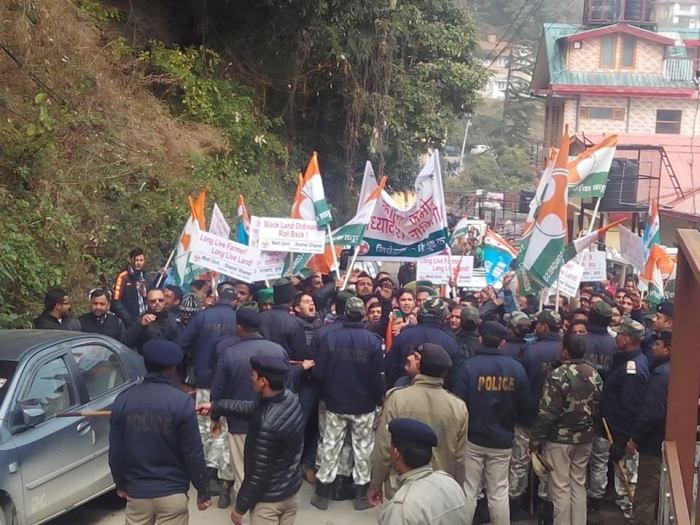 Shimla BJP & Youth Congress clash – who started it 8