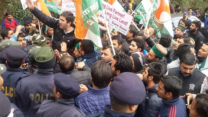 Shimla BJP & Youth Congress clash – who started it