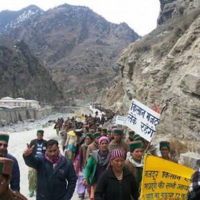 Himachal tribal protest
