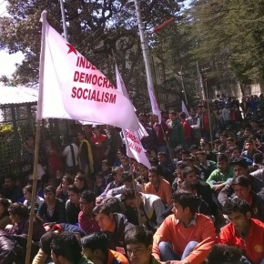 hpu student protest