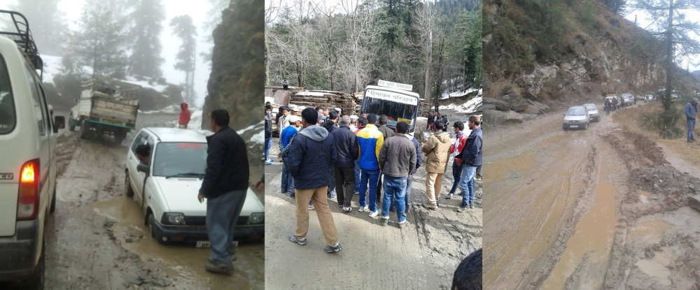 himachal road conditions
