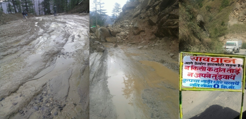 rohru-hatkoti road progress