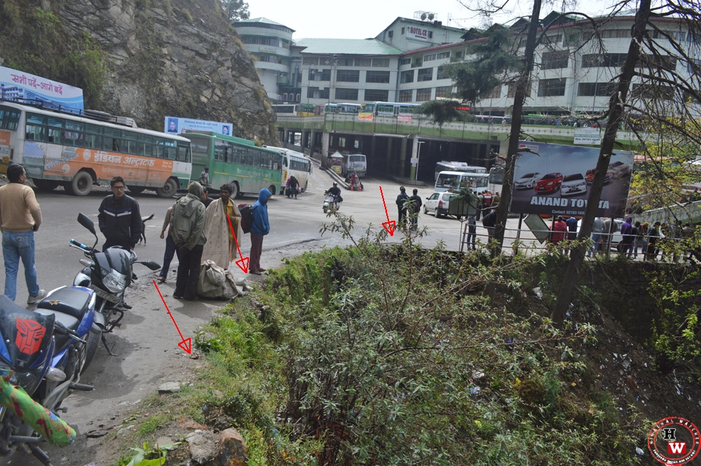 Unsafe himachal roads