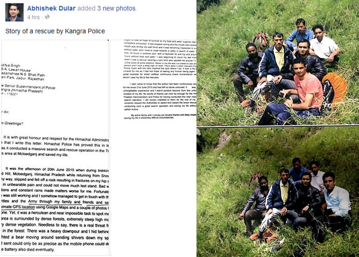 Triund-trek-survivor-recalls-his-horrific-tale-in-a-letter-to-Kangra-Police-SP