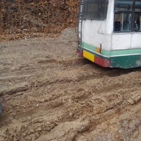 condition of road-Jubbal-Kotkhai