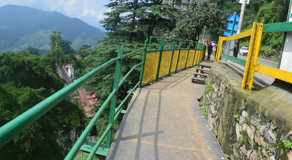 footpath-railway-station-to-victory-tunnel-shimla