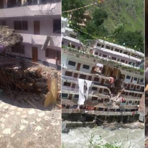 Landslide-Himachal-Pradesh-after-boulders-fall-on-Gurudwara-Manikaran-Sahib