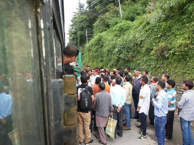 Shimla Police Gundagardi