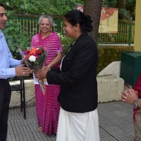 Dr. Bhasin at st. bede's