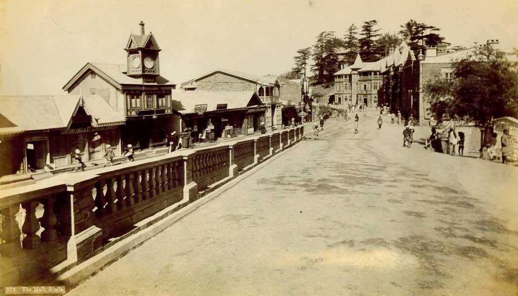 Bank-Building,-Mall-Road,-Shimla